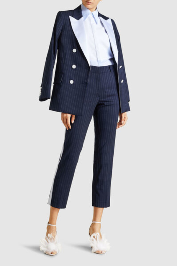 Racil Aires Pinstriped Trousers 3