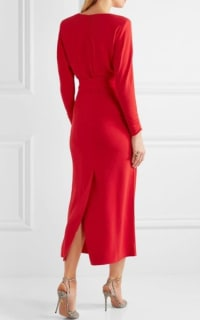 Alessandra Rich Long Red Dress 3 Preview Images