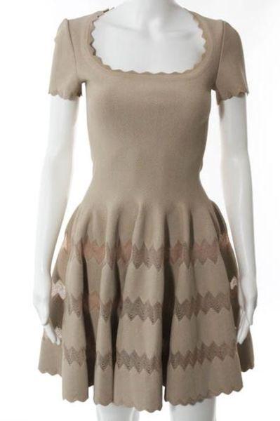 Alaïa Scalloped Edge Mini Dress 2 Preview Images