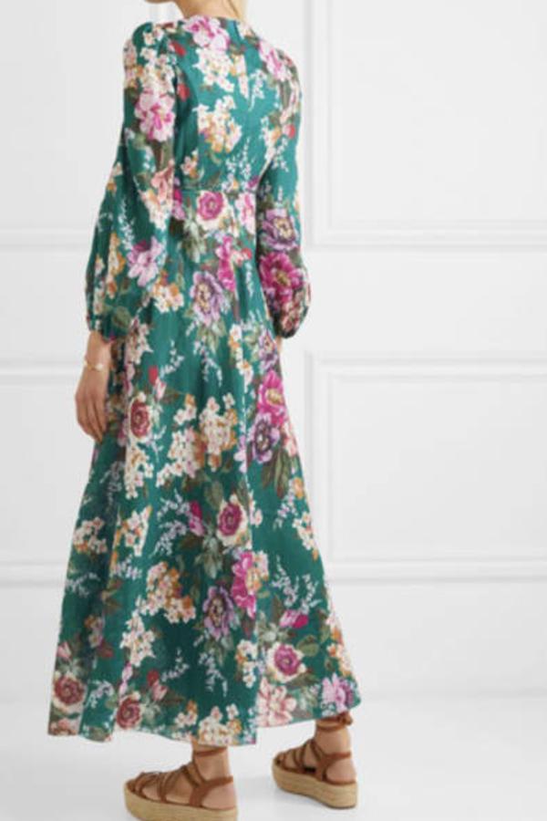 Zimmermann Allia Floral-Print Linen Maxi 1 Preview Images