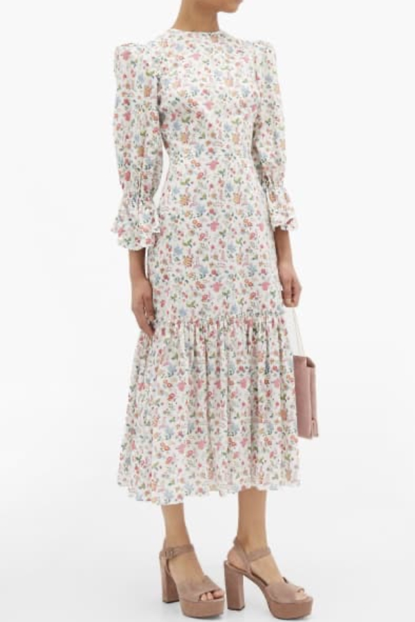 The Vampire's Wife Floral Songbird Dress  5