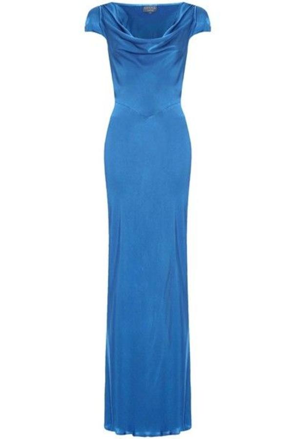 Ghost Sylvia Dress - Turkish Blue
