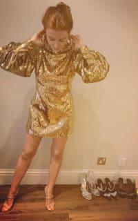 Borgo De Nor Lima sequinned mini dress 7 Preview Images