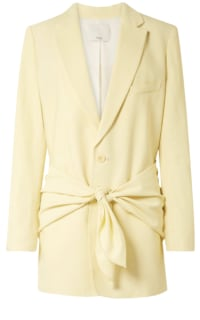 Tibi Yellow Suit Preview Images