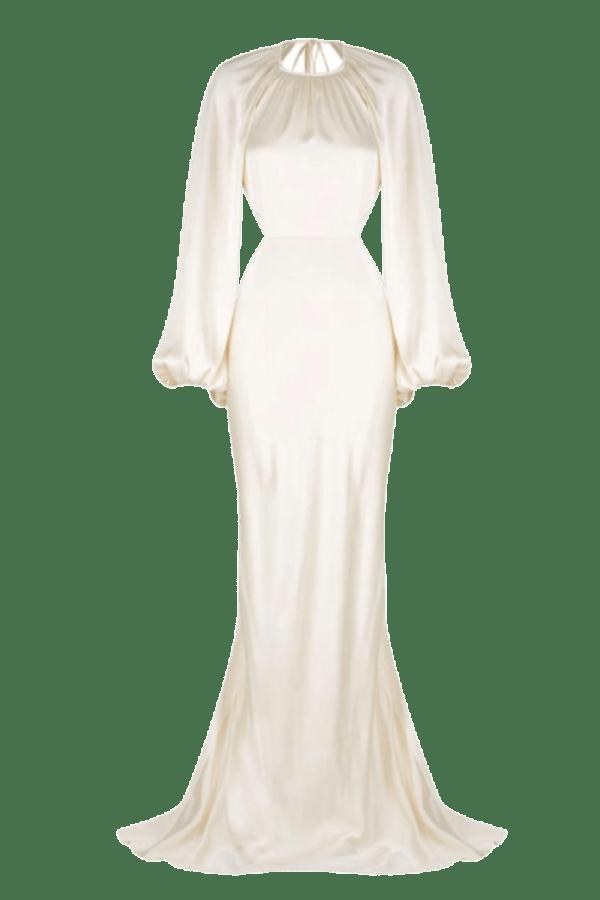 Image 1 of Shona Joy la lune balloon sleeve dress