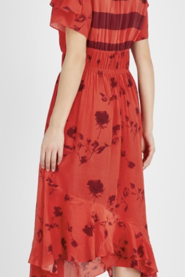 Preen by Thornton Bregazzi Esther printed satin dress