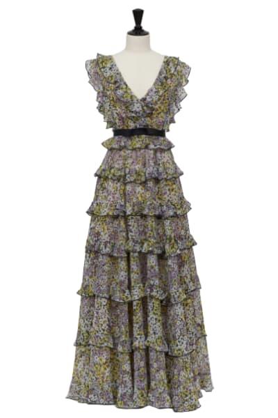 GIAMBATTISTA VALLI x H&M Tiered Maxi Dress