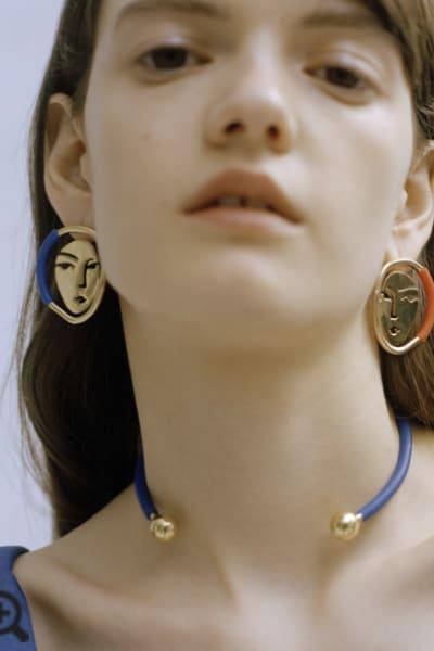 OOAK Portrait Earrings 2
