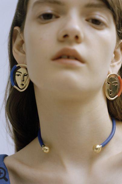 OOAK Portrait Earrings 2 Preview Images