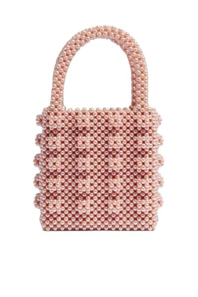 Shrimps Antonia pearl bag
