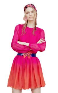 Matthew Williamson Ombre mini dress Preview Images