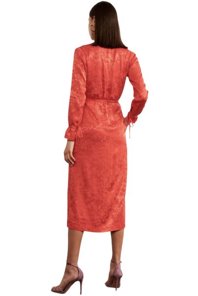Kitri Odile Red Wrap Dress 5 Preview Images