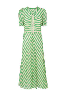 L.K. Bennett Holzer green stripe dress Preview Images