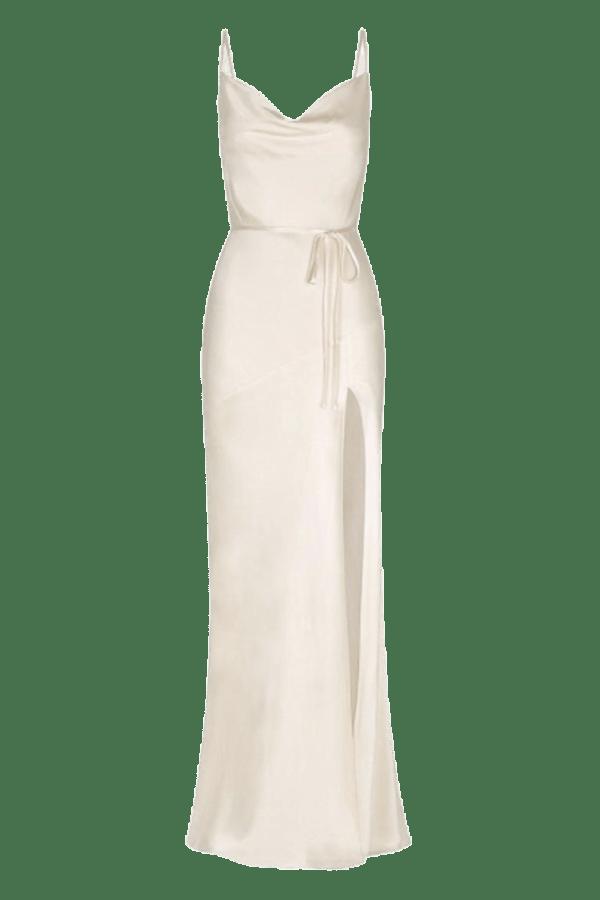 Image 1 of Shona Joy la lune bias cowl dress