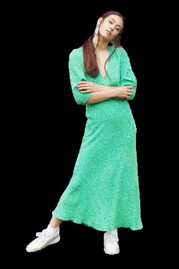 Image 2 of Rixo zadie retro micro floral dress