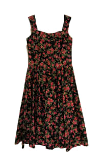 Dolce & Gabbana Rose Print Dress Preview Images