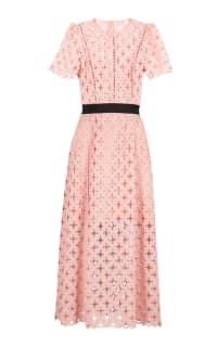 Sandro Pivoine Eyelet Lace Dress Preview Images