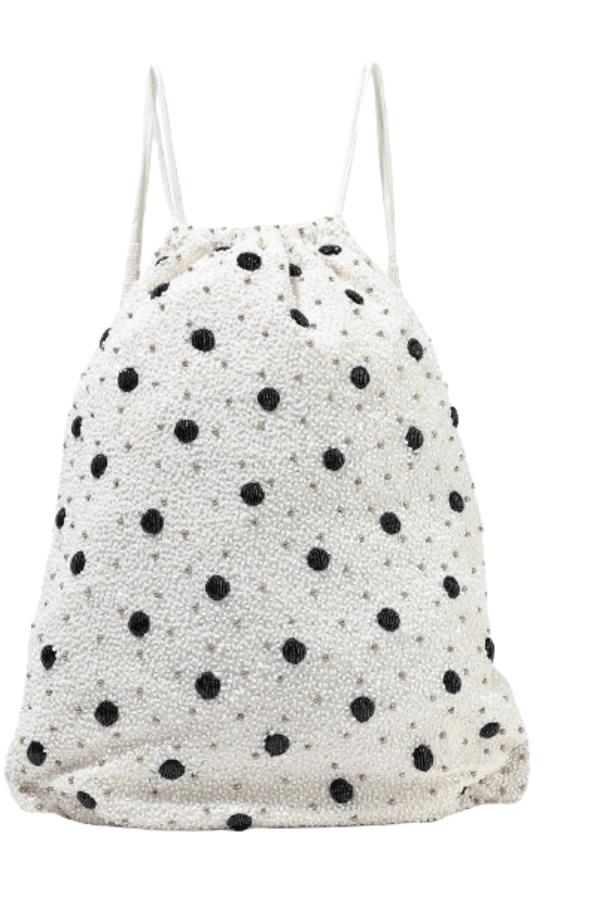 Ganni Wintour sequin embellished bag