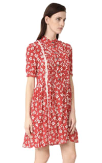 The Kooples Floral Ruffle Dress Preview Images