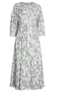 Olivia Rubin Annie Lavender Print Dress Preview Images