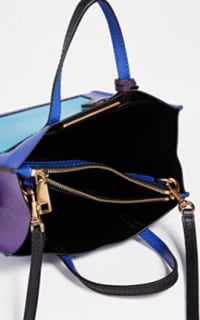 Marc Jacobs The Mini Grind Leather Bag in Academy Blue 2 Preview Images