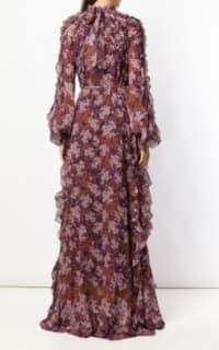 Giambattista Valli Floral Maxi silk dress 3 Preview Images