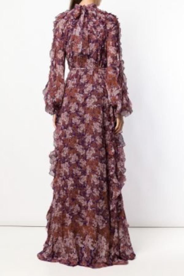 Giambattista Valli Floral Maxi silk dress 3