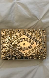 Anya Hindmarch Custard Cream Clutch  4 Preview Images