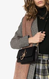 JW Anderson Black & Gold Anchor Logo Bag Preview Images