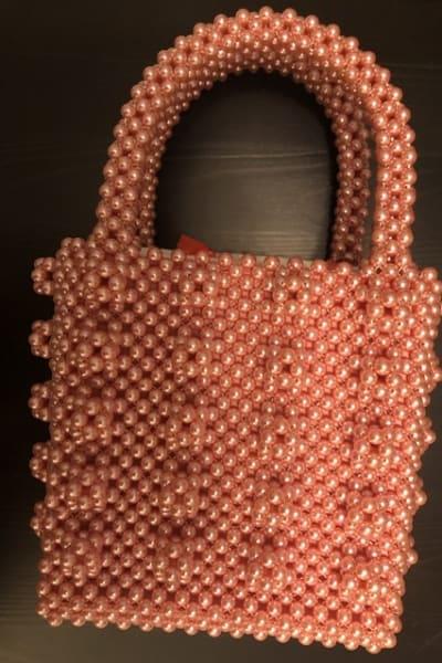 Shrimps Antonia pearl bag  2