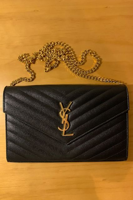 Saint Laurent Monogram leather crossbody bag 4 Preview Images