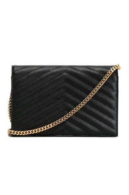 Saint Laurent Monogramme Quilted Leather Shoulder Bag Preview Images