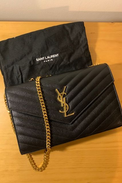 Saint Laurent Monogram leather crossbody bag 3 Preview Images