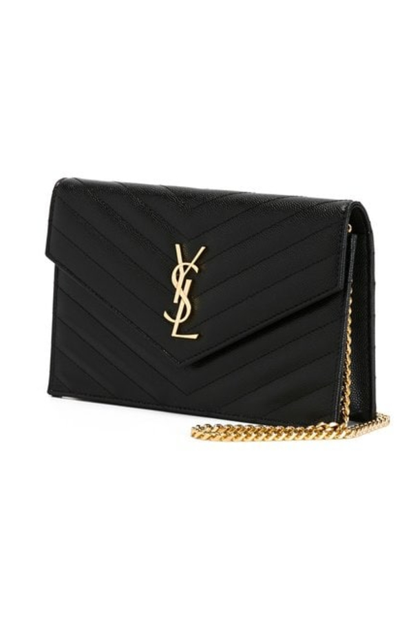 Saint Laurent Monogramme Quilted Leather Shoulder Bag 3