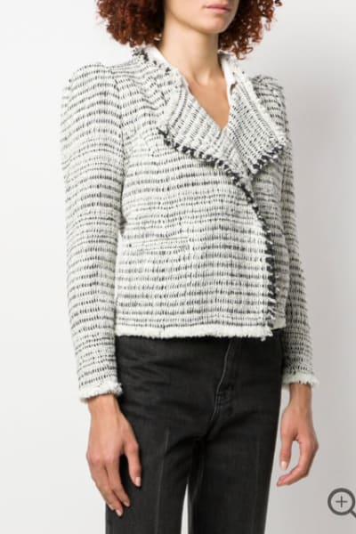 Iro Fitted Tweed Jacket 2