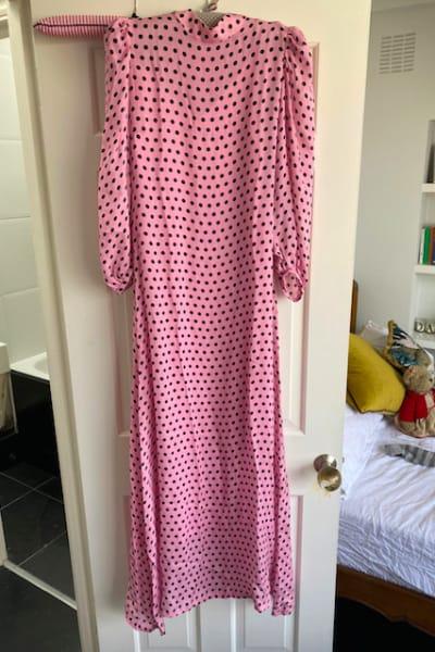 Olivia Rubin Elizabeth polka-dot dress 5