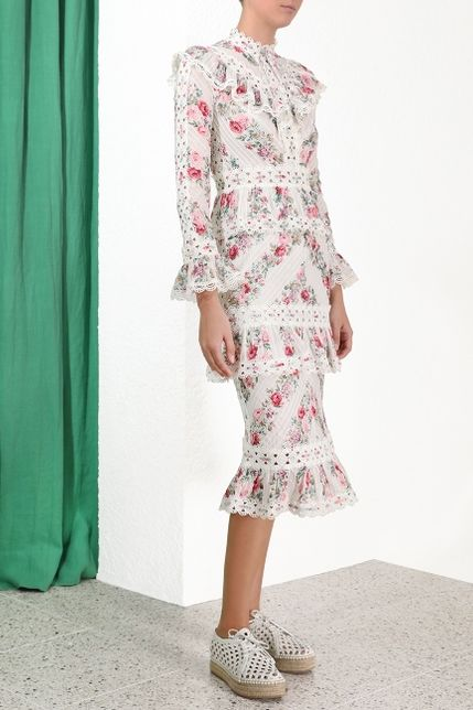 Zimmermann Honour Pintuck Dress 3