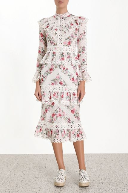 Zimmermann Honour Pintuck Dress 2