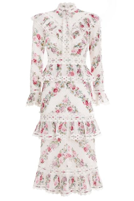 Zimmermann Honour Pintuck Dress