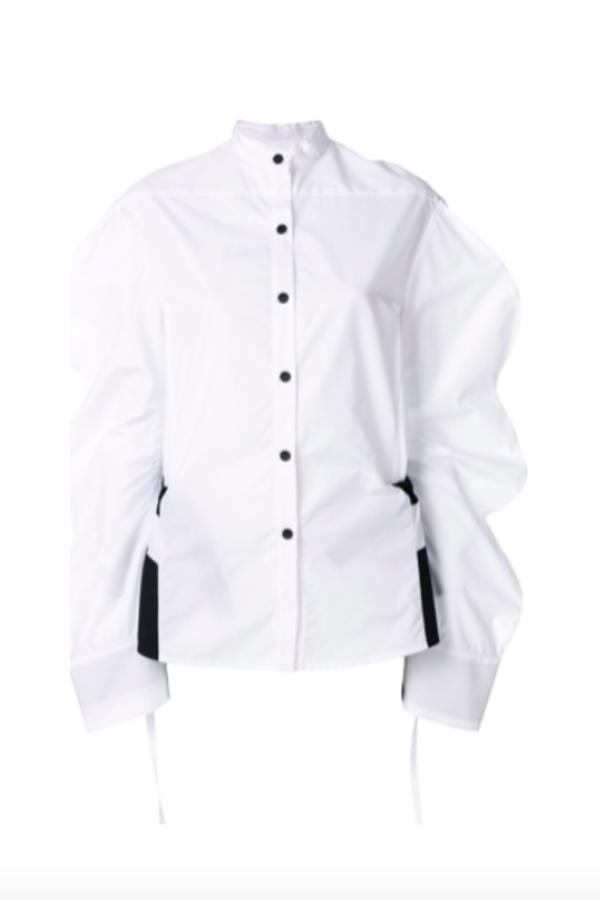 Eudon Choi Oversized sleeve shirt