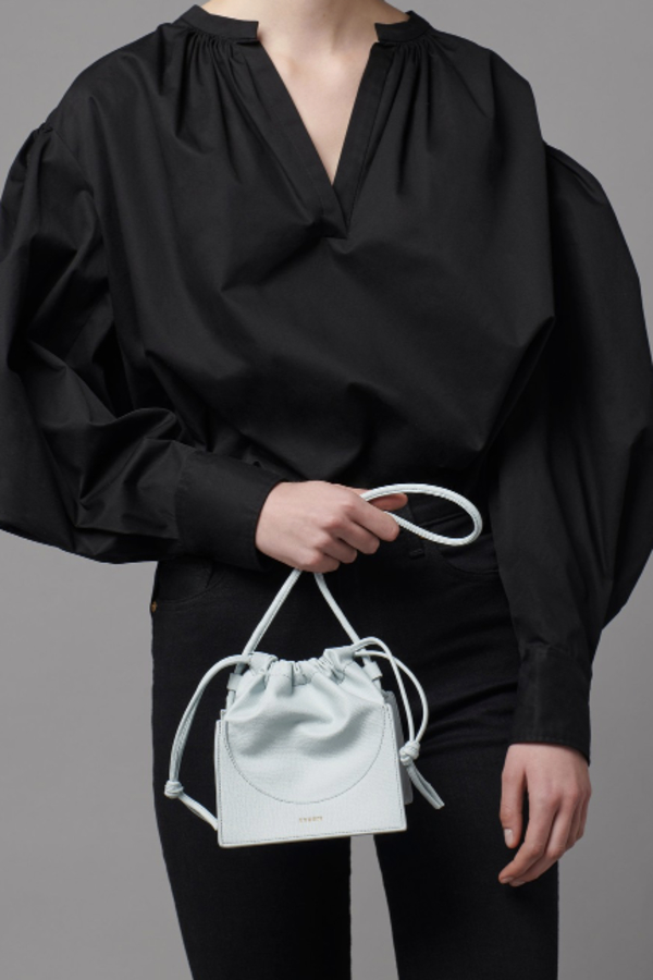 Yuzefi Pouchy Leather Bag 2