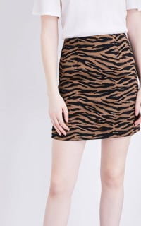 Claudie Pierlot Tiger Mini Skirt 3 Preview Images