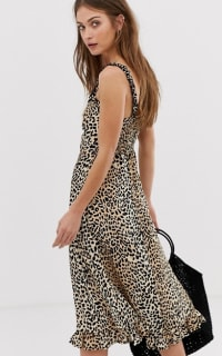 Faithfull The Brand Noemie leopard print midi 3 Preview Images