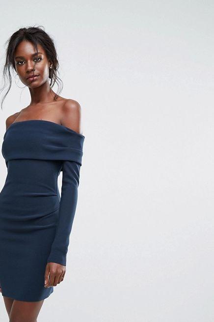 Bec & Bridge Off-Shoulder Mini Dress 2 Preview Images
