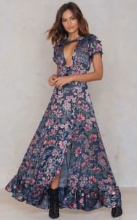 For Love and Lemons Flora Maxi Dress 2 Preview Images