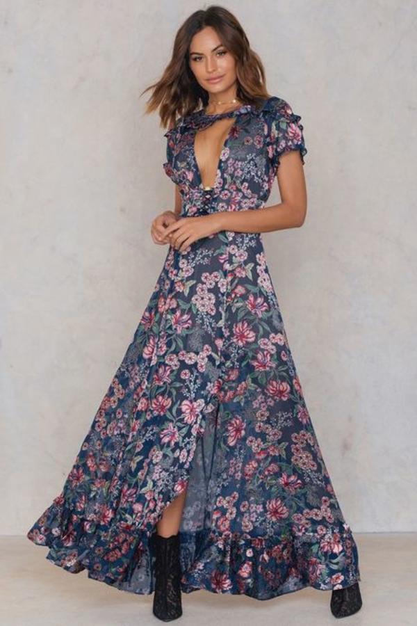 For Love and Lemons Flora Maxi Dress 2