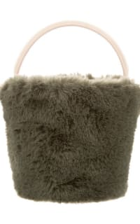Cafune Mini Basket Bag - Fur 2 Preview Images