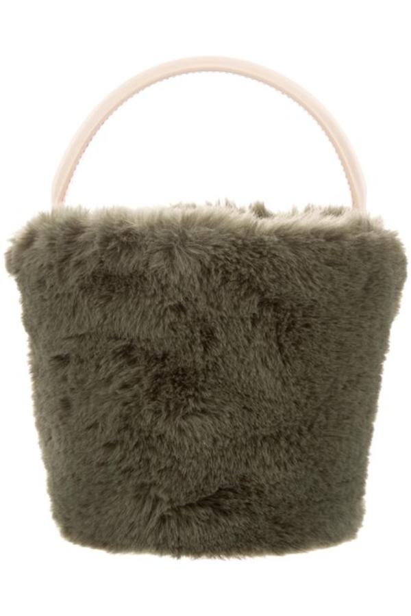 Cafune Mini Basket Bag - Fur 2