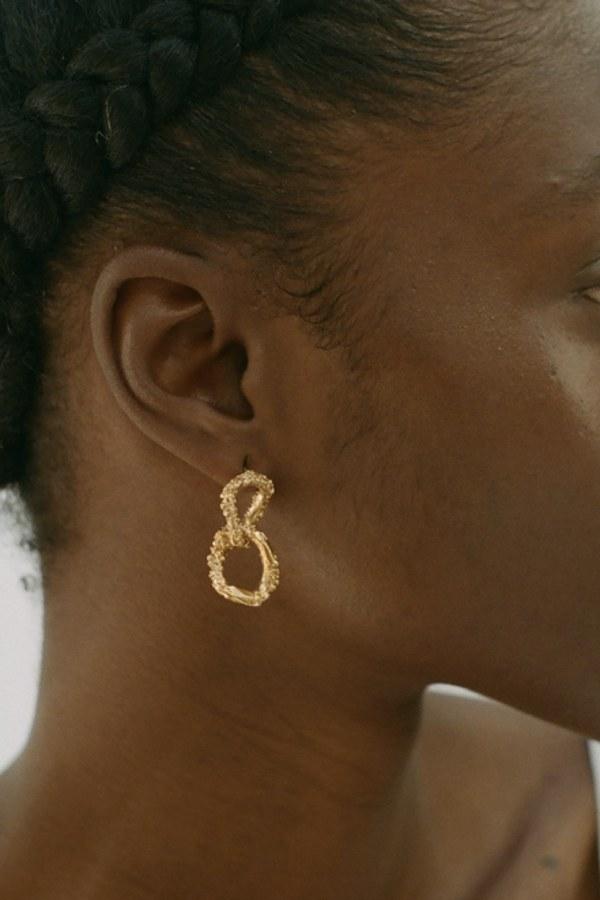 Image 3 of Alighieri rocky road earrings