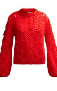 Ganni Julliard Mohair knit jumper Preview Images